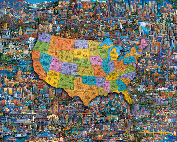 Best of America Traditional Puzzle