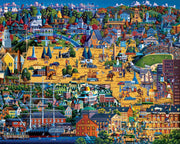 Best of Massachusetts - Wooden Puzzle