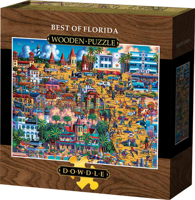 Best of Florida - Wooden Puzzle