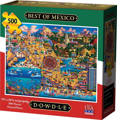 Best of Mexico - 500 Piece