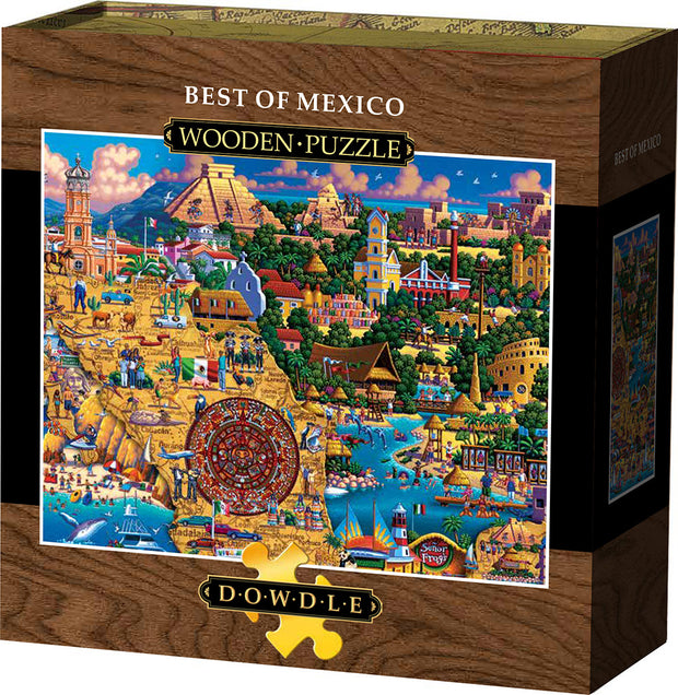 Best of Mexico - Wooden Puzzle