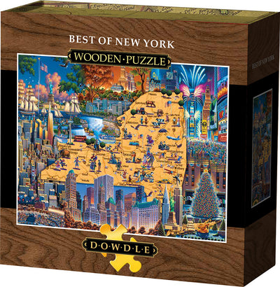 Best of New York - Wooden Puzzle