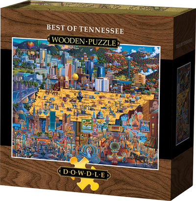 Best of Tennessee - Wooden Puzzle