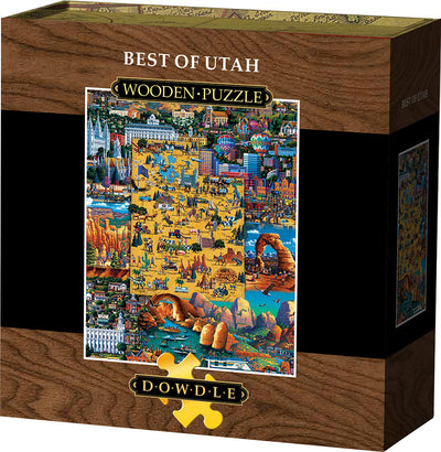 Best of Utah Wooden Puzzle