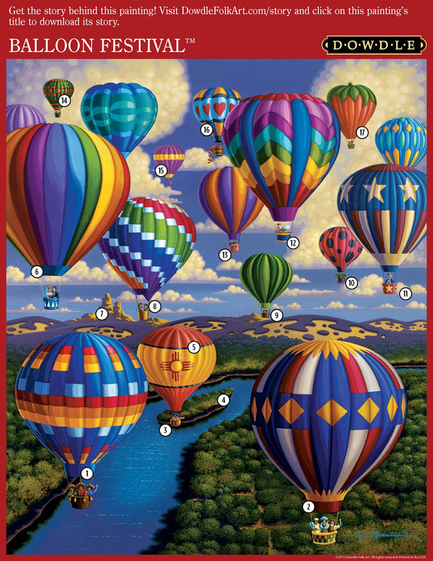 Balloon Festival - 1000 Piece