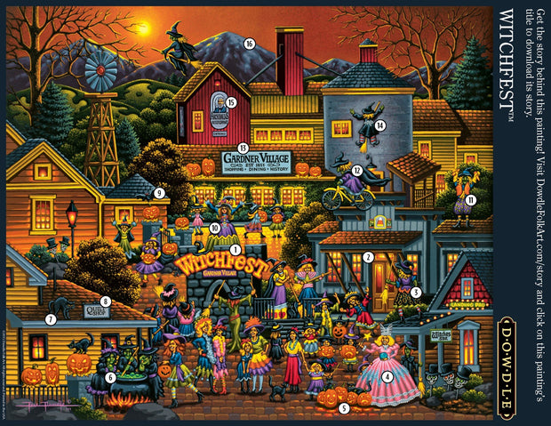 Witchfest - 100 Piece
