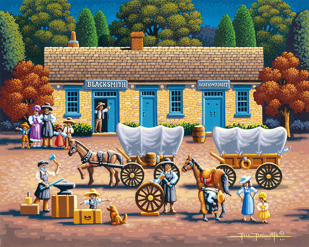 Blacksmith Shop - Fine Art