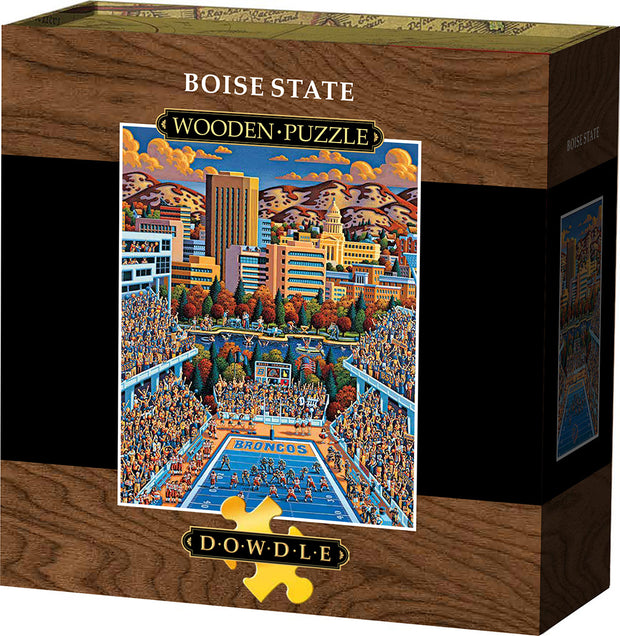 Boise State Broncos - Wooden Puzzle