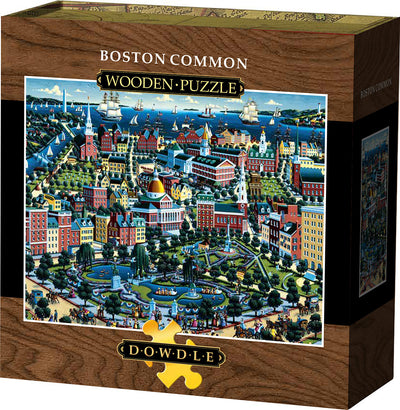 Boston Common Wooden Puzzle