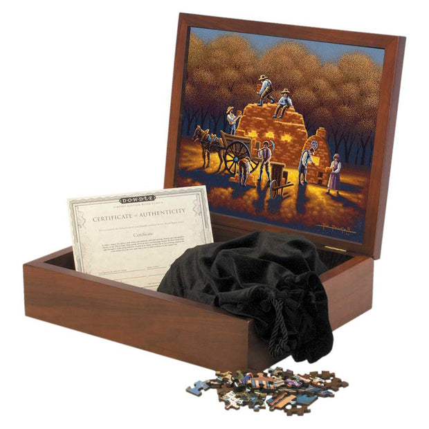 Brickyard in Nauvoo - Wooden Puzzle