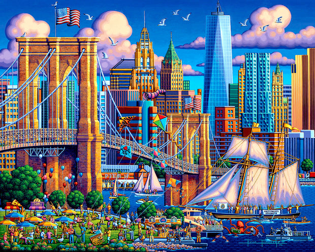 Brooklyn Bridge - Fine Art