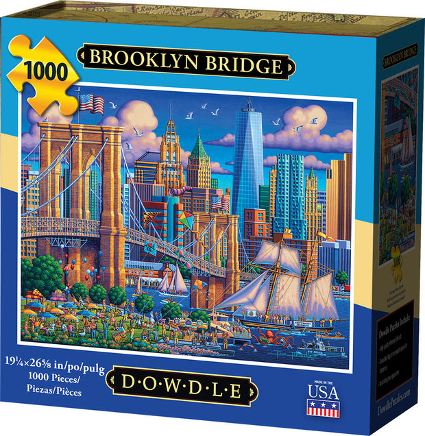 Brooklyn Bridge - Jigsaw Puzzle