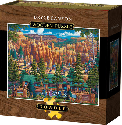 Bryce Canyon Wooden Puzzle