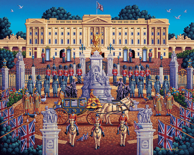 Buckingham Palace - Fine Art