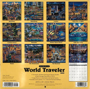 World Traveler 2020 Wall Calendar