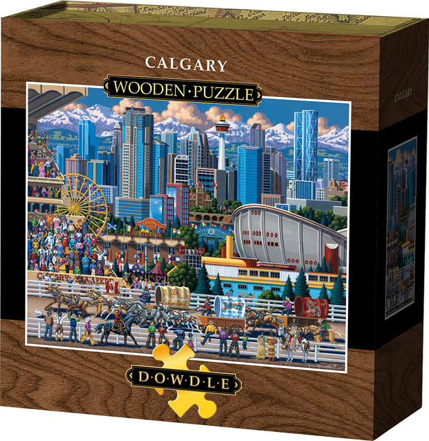 Calgary - Wooden Puzzle