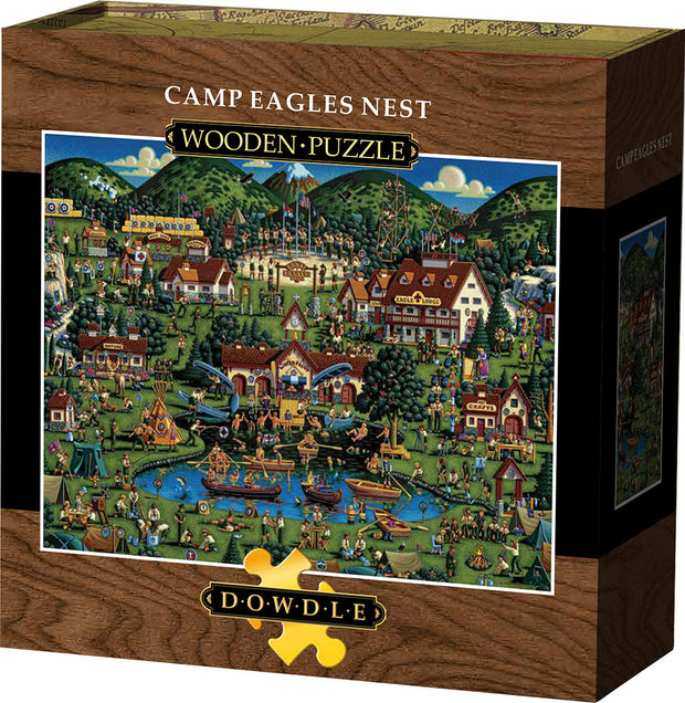 Camp Eagles Nest - Wooden Puzzle