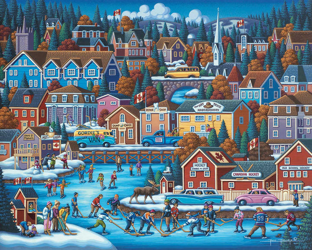 Canadian Hockey Fine Art