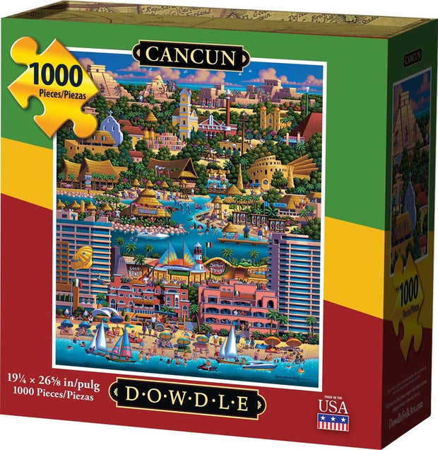 Cancun - 1000 Piece