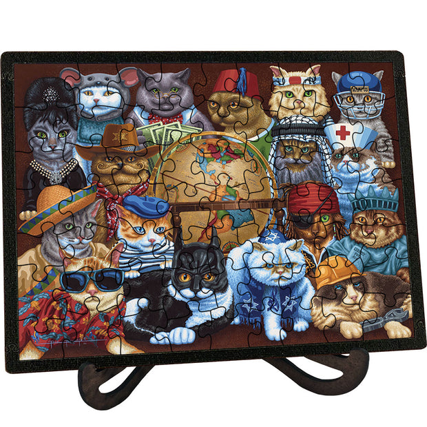 Cats Around the World Picture Perfect Puzzle™
