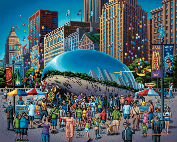 Chicago Bean - Fine Art