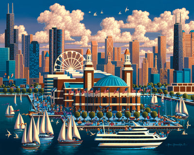 Chicago Navy Pier - Stratascape