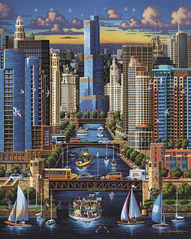Chicago River - Fine Art