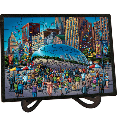 Chicago Bean - Picture Perfect Puzzle™