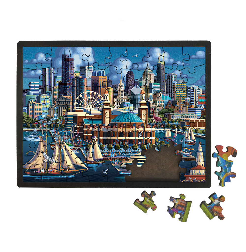 Chicago Navy Pier Picture Perfect Puzzle™