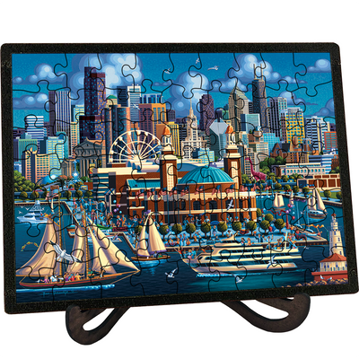 Chicago Navy Pier - Picture Perfect Puzzle™