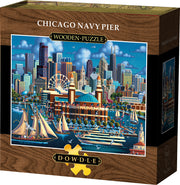 Chicago Navy Pier - Wooden Puzzle