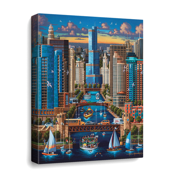 Chicago River - Travel Puzzle