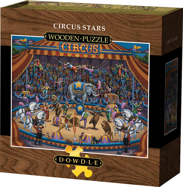 Circus Stars Wooden Puzzle