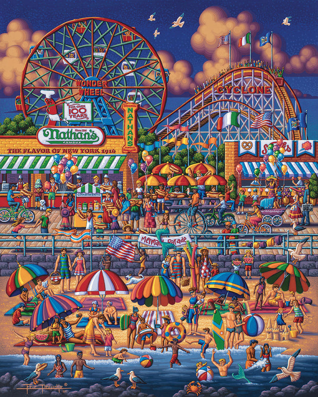 Coney Island - Fine Art