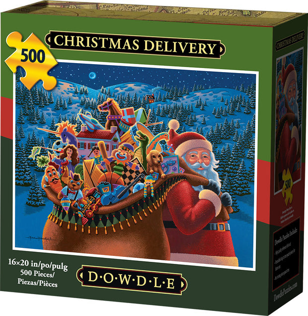 Christmas Delivery - 500 Piece