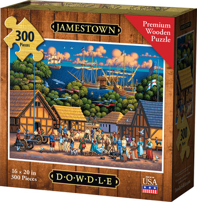 Jamestown Wooden Puzzle