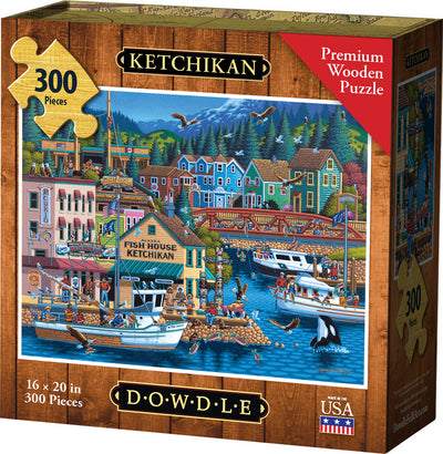 Ketchikan - Wooden Puzzle