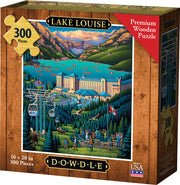 Lake Louise Wooden Puzzle