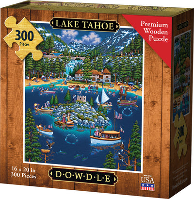 Lake Tahoe - Wooden Puzzle