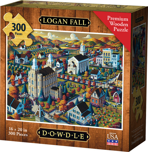 Logan Fall Wooden Puzzle