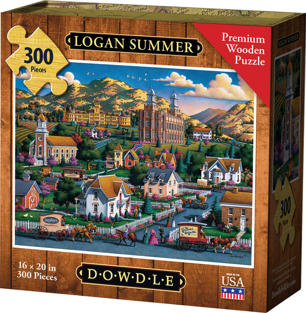 Logan Summer - Wooden Puzzle