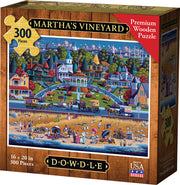 Martha's Vineyard - Wooden Puzzle