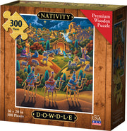Nativity - Wooden Puzzle