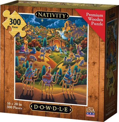 Nativity Wooden Puzzle