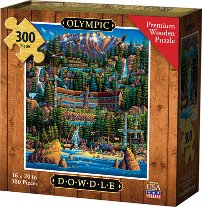 Olympic National Park - Wooden Puzzle
