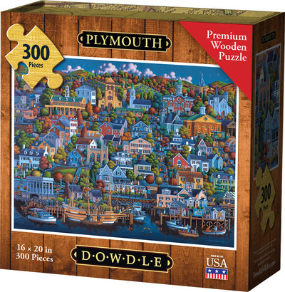 Plymouth - Wooden Puzzle