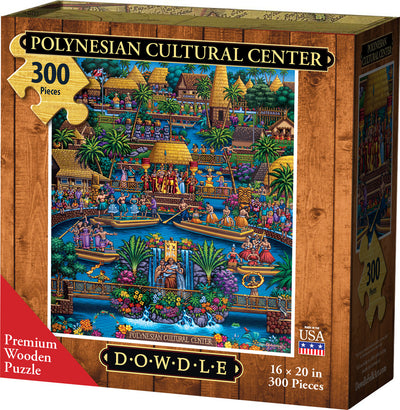 Polynesian Cultural Center - Wooden Puzzle