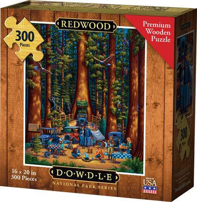 Redwood Wooden Puzzle