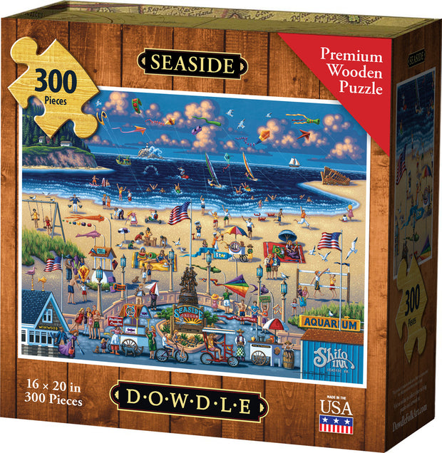 Seaside - Wooden Puzzle