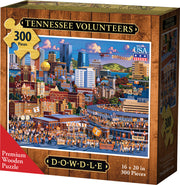 Tennessee Volunteers Wooden Puzzle